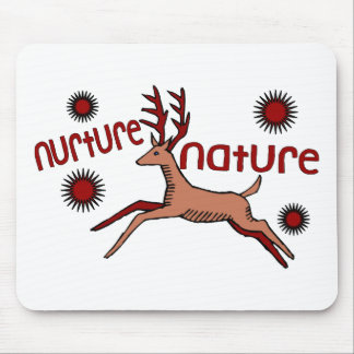 Nurture Nature Deer Mouse Pad