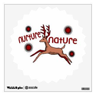 Nurture Nature Deer Wall Sticker