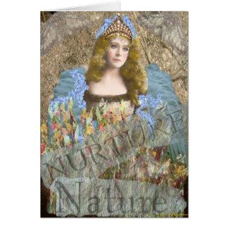 Nurture nature notecard