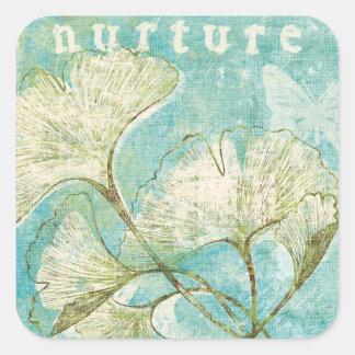 Nurture Nature Square Sticker