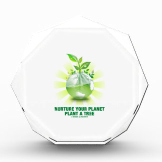 Nurture Your Planet Plant A Tree (Planet Earth) Award