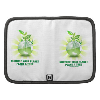 Nurture Your Planet Plant A Tree (Planet Earth) Organizer