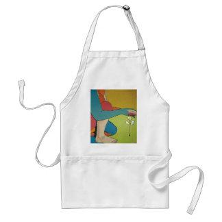 Nurturing - Abstract Art Adult Apron