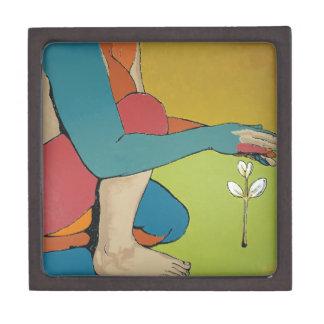Nurturing - Abstract Art Premium Trinket Boxes