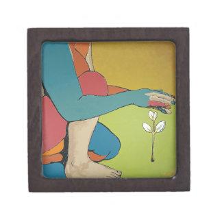 Nurturing - Abstract Art Premium Keepsake Boxes