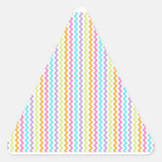 Nurturing Honored Good Rejoice Triangle Sticker