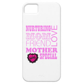 Nurturing Mom, special Mother iPhone SE/5/5s Case