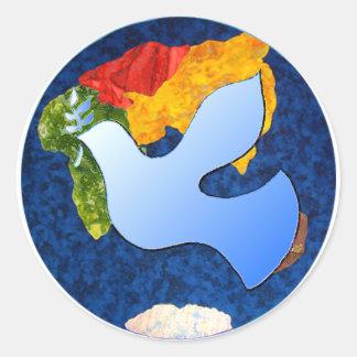 Nurturing Tomorrow's Peacemakers Classic Round Sticker