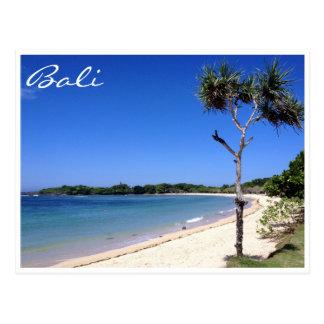 nusa dua bali beach postcard
