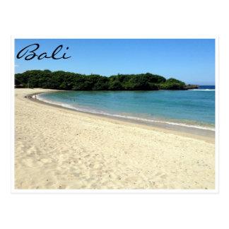 nusa dua beach postcard