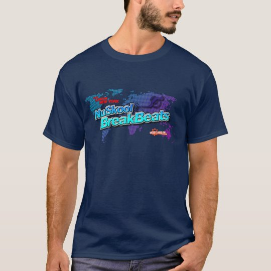 NuSkool Breakbeats - Breaks DJ Djing Music Vinyl T-Shirt