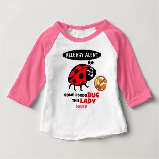 Nut Allergy Alert Ladybug Shirt