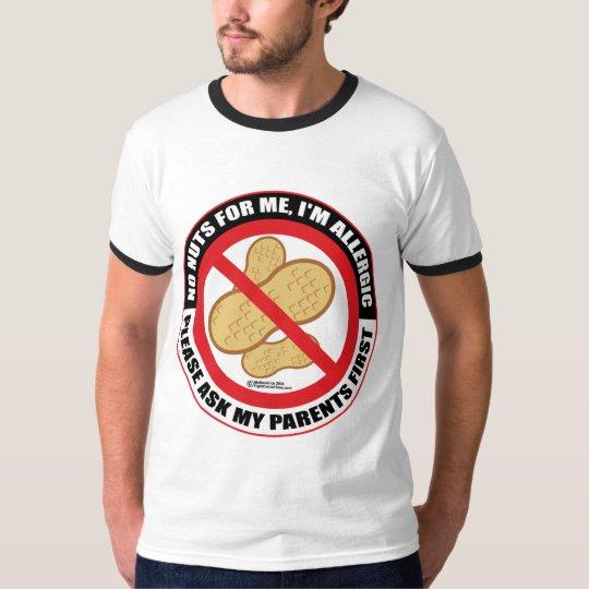 Nut Allergy T-Shirt