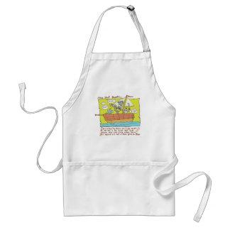 nut boat adult apron