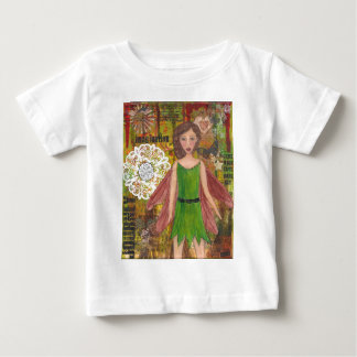 Nut Brown Fairy cropped.jpg Baby T-Shirt