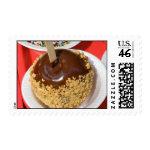 Nut Chocolate Coated Apple Stamp