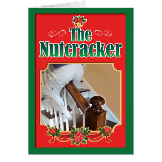 Nut Cracker Banister Card