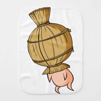Nut English story Mito Ibaraki Yuru-chara Burp Cloth