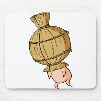 Nut English story Mito Ibaraki Yuru-chara Mouse Pad