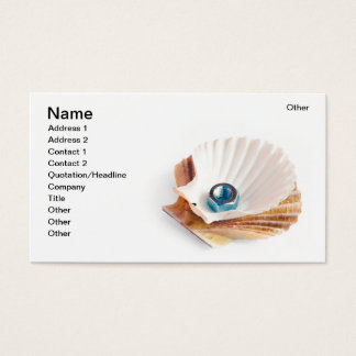 Nut in the shell business card