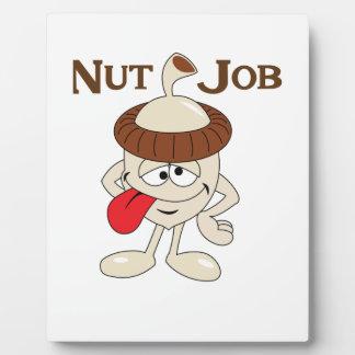 NUT JOB PLAQUE