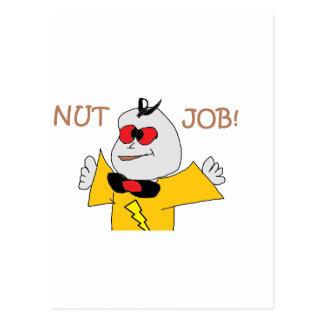 nut job postcard