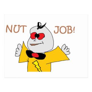 nut job postcards