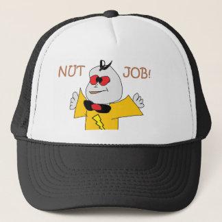 nut job trucker hat