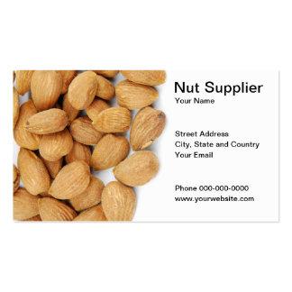 Nut Supplier Business Card Business Card Templates