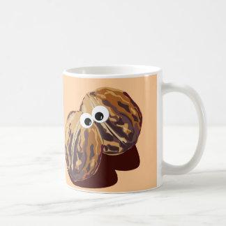 'NUT UP MAN' humorous parody Coffee Mug