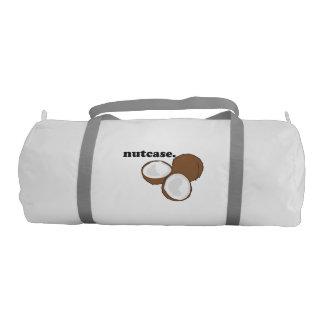 nutcase. (coconut) gym bag