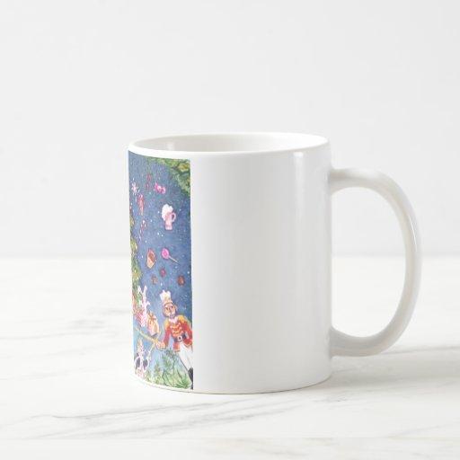 Nutcracker and The Tree Classic White Coffee Mug