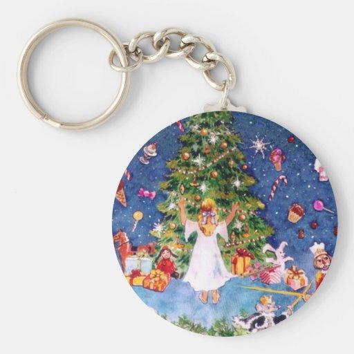 Nutcracker and The Tree Keychain