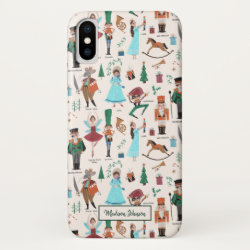 Nutcracker Ballet | Christmas Holiday | iPhone X Case