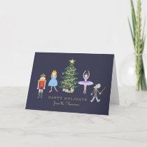 Nutcracker Ballet Holiday Card