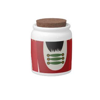 Nutcracker Candy Jar