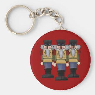 Nutcracker Christmas Keychain