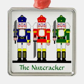 Nutcracker Christmas Personalized Metal Ornament