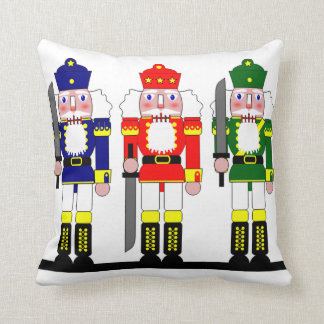 Nutcracker Christmas Personalized Throw Pillow