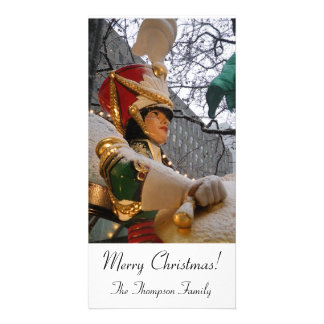 Nutcracker Christmas Photo Cards