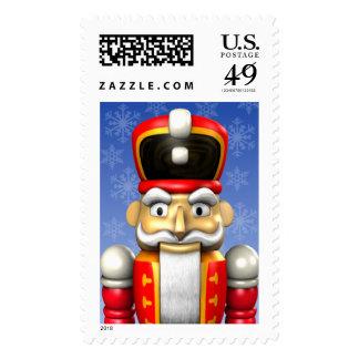 Nutcracker Custom Holiday Postage