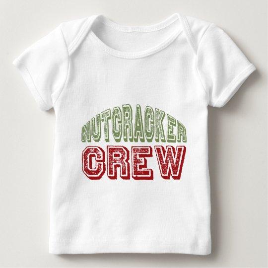 Nutcracker Dance Crew Design for Christmas Baby T-Shirt
