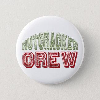 Nutcracker Dance Crew Design for Christmas Pinback Button