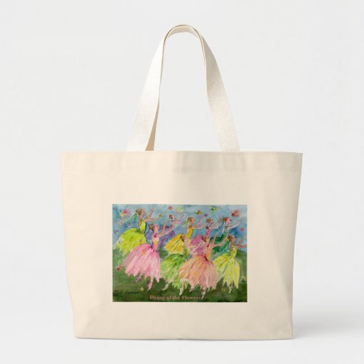 Nutcracker Dance of the Flowers Canvas Bags