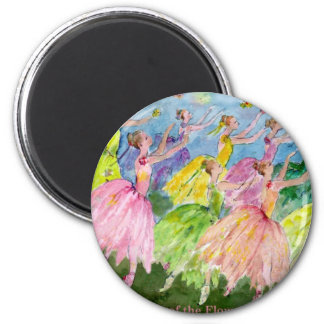 Nutcracker Dance of the Flowers Magnet