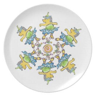 Nutcracker Dance of the Flowers plate