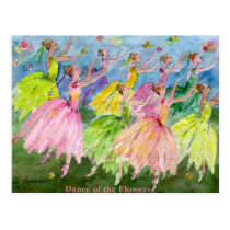 Nutcracker Dance of the Flowers Postcard