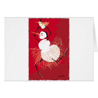 Nutcracker Dancers Card