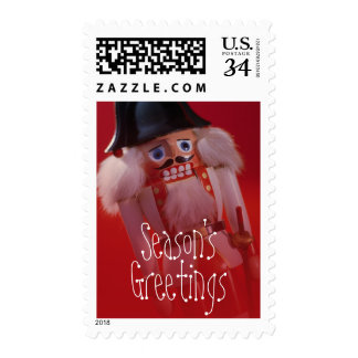 Nutcracker doll postage