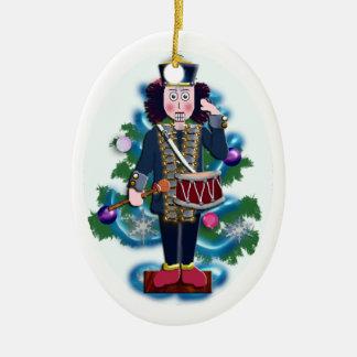 nutcracker drummer boy ceramic ornament